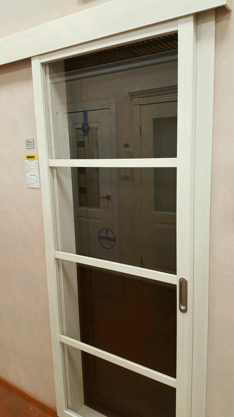 Раздвежные межкомнатные двери